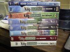 (8) The King of Queens + Kevin Can Wait Season DVD Lot: Seasons 1-7 w/Slipcovers