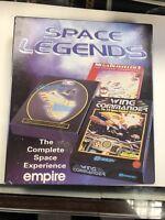 Space Legends Empire Wing Commander Elite Plus Megat Commodore Amiga ~ OVP/BOXED
