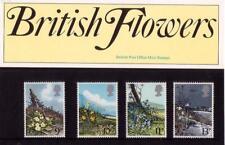 GB 1979 WILD FLOWERS  PRESENTATION PACK No.107 SG 1079 1082 MINT STAMP SET #107