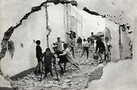 1933 Vintage HENRI CARTIER-BRESSON Children Playing Seville Spain Street Poverty