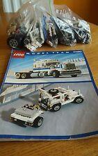 VINTAGE LEGO lot. Modèle équipe 5580. American Big Rig. Complet avec Manuel