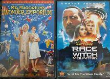 Mr. Magorium's Wonder Emporium & Race to Witch Mountain Johnson Hoffman Portman
