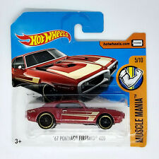 Hot Wheels '67 Pontiac Firebird 400 Modellino Auto Automobile Muscle Mania 5/10