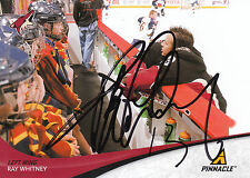 RAY WHITNEY COYOTES AUTOGRAPH AUTO 11/12 PINNACLE #170 *26060