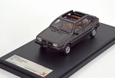 Lancia Delta Selene Semi-Convertible 1983 Dark Grey 1/43 PRD0023 PremiumX