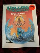Hollow World Nightstorm Adventure Module <Shrink Wrapped> - Dungeons and Dragons