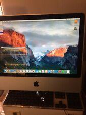 Apple iMac A1224 2.4GHZ core2duo 2008 250Gb El Capitan MS Office 4GB UPGRADE