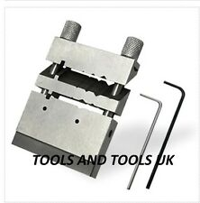 QUALITY MITER FILING TUBING JIG SAW VISE JEWELERS SHAPING CUTTING TOOL JIG VICE