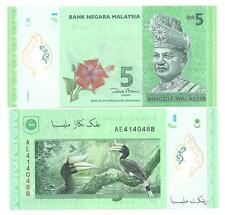 MALAYSIA 5 RINGGIT 2012 POLYMER UNC P 52