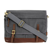 Fossil Defender Men's Gray Medium Messenger Bag MBG9078