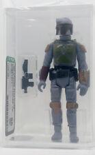 Kenner Star Wars Boba Fett TW AFA 85 loose vintage NEW CASE STYLE
