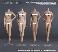 JIAOU DOLL 09F 1/6 Undetachable Big Bust Female Body For Phicen Hot Toys Figure