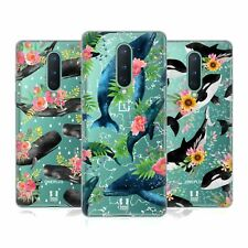 Head Case Designs Floral Marine Mammals Soft Gel Case For Amazon Asus Oneplus