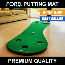 FORB Home Golf Putting Mat - Practice Putting At Home [Net World Sports]