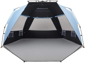 Easthills Outdoors Instant Shader Dark Shelter Deluxe Xl Easy Up 4 Person Beach