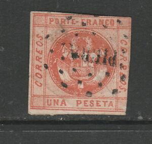Peru Scott# 4 Used