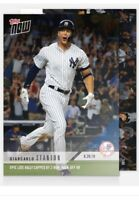 2018 Topps Now MLB 349 Giancarlo Stanton Late Rally Capped By 2Run Walkoff HR