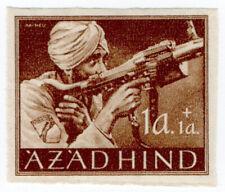(I.B) India Cinderella : Azad Hind 1a + 1a (proof)