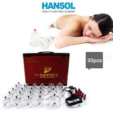 CUPPING SET HANSOL Slimming Massage Acupuncture Vacuum Therapy Equipment Korea