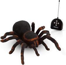 Radio Remote Control 8� Tarantula Big Hairy And Scary Gag Joke Toy