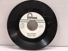 Gloria Lynne  45 RADIO PROMO Be Anything (But Be Mine) / Soul Serenade NM VINYL
