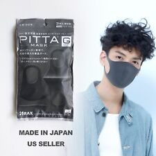 Authentic Pitta Dust Mask Made in Japan Reusable Face Cover 3PCS SAMEDAYSHIPPING