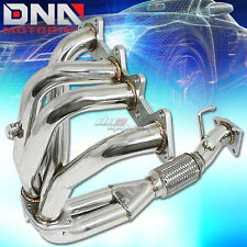 STAINLESS STEEL 4-2-1 HEADER FOR 98-02 ACCORD F23 2.3L 4CYL CG EXHAUST/MANIFOLD