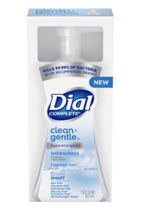 Dial Complete Clean + Gentle Foam Handwash, Unscented, 7.5 Fl. Oz.