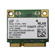 Dell 512AN_HMW Intel WiFi Link 5100 MINI PCIE 5.0 Ghz N Card 0H006K 802.11n