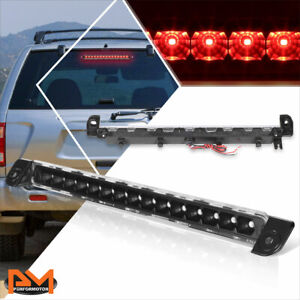 For 01-04 Pathfinder/Infiniti QX4 Full LED 3RD Tail Brake Light Stop Lamp Black