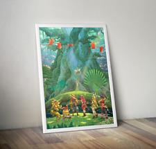 Seiken Densetsu 3 Trials of Mana Heroes Group Promotional Art Poster 18x24