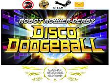Robot Roller-Derby Disco Dodgeball PC & Mac Digital STEAM KEY - Region Free