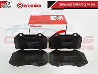 BREMBO GENUINE ORIGINAL PREMIUM BRAKE PADS PAD SET FRONT AXLE P68036