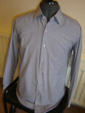 "TOMMY HILFIGER - MENS LONG-SLEEVED SHIRT - 41"" CHEST & 16"" NECK"