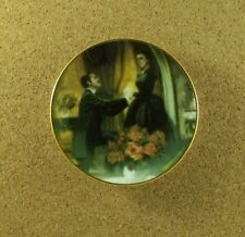 Gone With the Wind Golden Memories THE PROPOSAL Mini Plate Movie Miniature #4