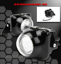 00-05 TOYOTA CELICA GT GTS BUMPER DRIVING PROJECTOR FOG LIGHT LAMP SET JDM CLEAR