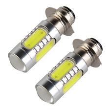 2pcs For Honda TRX 300X 400X 450R 700XX Xenon White H6M COB LED Headlight Bulbs