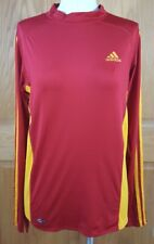 Adidas Climacool Women's Red & Yellow Athletic Training Shirt Size XL