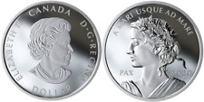 2020 Lady Peace PAX Dollar Nation $1 1OZ PureSilver Proof Coin Canada Sea to Sea