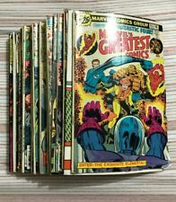 Lot of 30 Comic Books Marvel DC some others; apprx 1966-1991 / FAST USA SHIPPER