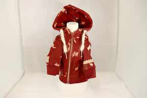 Dog Clothes Wear Red Hoodie Cool Cute Small Size Poodle from Japan 7