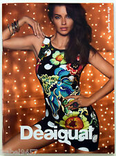 DESIGUAL Fall Winter 2014-2015 Catalog Lookbook - ADRIANA LIMA - BRAND NEW