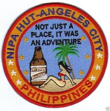NIPA HUT ANGELES CITY PATCH, NEAR CLARK AB, NOT JUST A PLACE, WAS ADVENTURE    Y