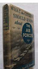 Military Aviation History Citizen Should Know Army Air Forces Illus DJ 1st 1942