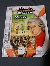 Tiptoi Buch  Expedition Wissen Musik.... Selten...