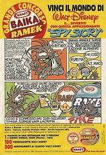 X2473 KRAFT - Baika - Ramek - Spy Story - Pubblicità 1989 - Advertising