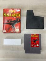 Wrath of the Black Manta w/ box No Manual (Nintendo Entertainment System, 1990)