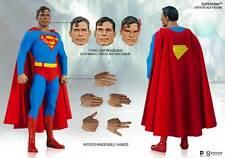 SIDESHOW SUPERMAN 1/6 COMIC BOOK VERSION ACTION FIGURE 30 CM DC COMICS BATMAN