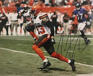 Joe Haden Signed Autographed Cleveland Browns 8x10 Photo Football