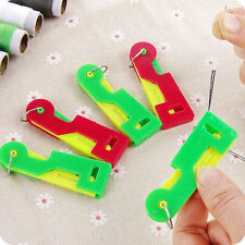 3PCS Elderly Use Automatic Needle Threader Thread Guide Device Sewing Tool NEW